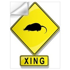 Mole XING Wall Decal