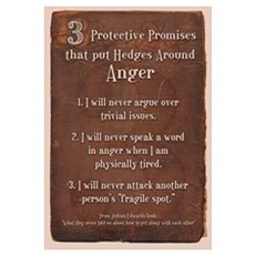 3 protective promises Canvas Art