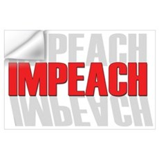 Impeach Wall Decal