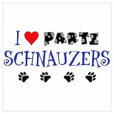 I Love Parti Schnauzers 1.0 Poster
