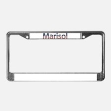 Marisol Stars and Stripes License Plate Frame