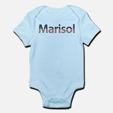 Marisol Stars and Stripes Infant Bodysuit