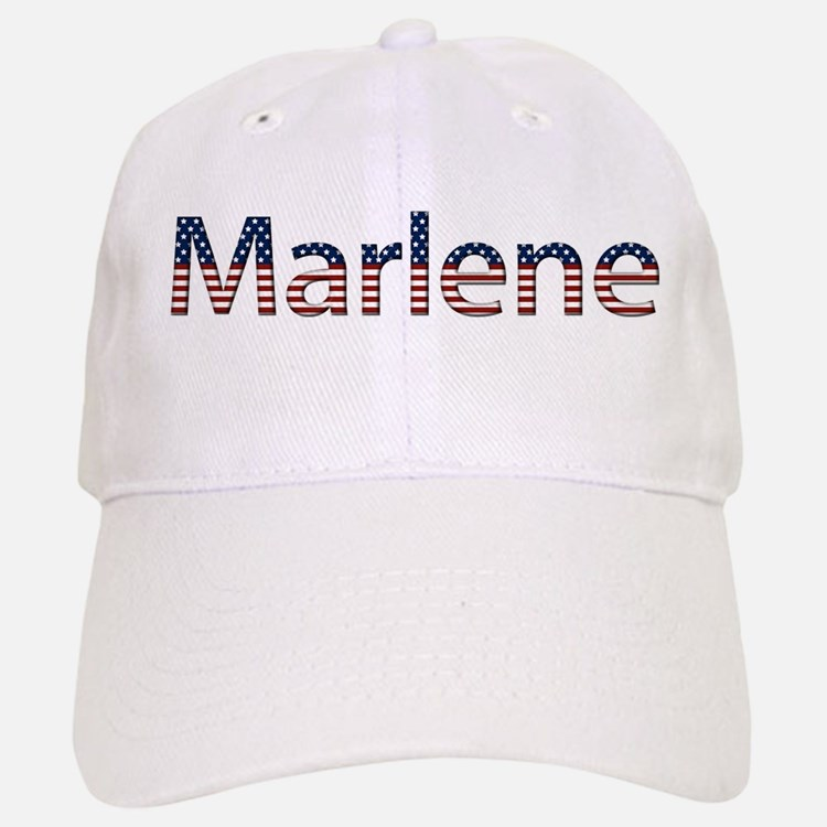 Marlene Stars and Stripes Baseball Baseball Cap