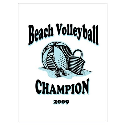 """Beach Volleyball"" Poster"