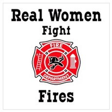 Real Women Fight Fires Poster