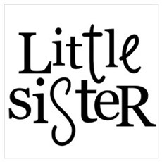 Little sister mixed type Poster