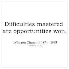 Winston Churchill 5 Poster