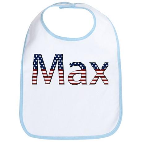 Max Stars and Stripes Bib
