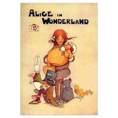 Cover Illustration, 1910 Poster