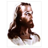 Jesus Wrapped Canvas Art