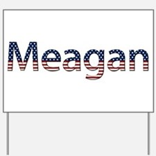 Meagan Stars and Stripes Yard Sign