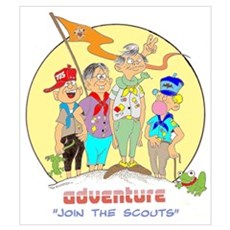 ADVENTURE-BOY SCOUTS II Poster