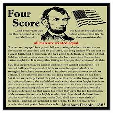 """Gettysburg Address"" Poster"