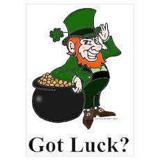 Got Luck? Poster