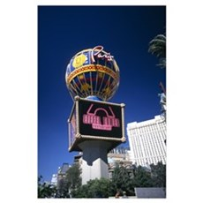 Las Vegas Paris Hotel Poster