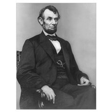 Abraham Lincoln (1864) Poster