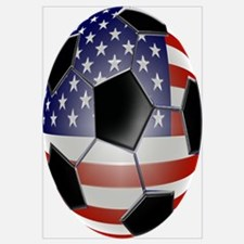 US Flag Soccer Ball
