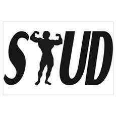 Stud Muscles Canvas Art