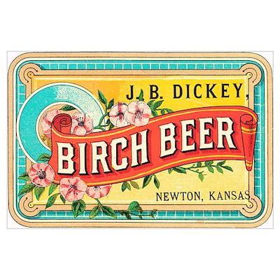 Birch Beer Poster
