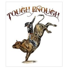 Tough enough Canvas Art