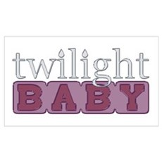 Twilight Baby Framed Print