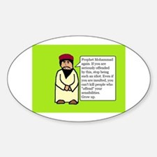 Mohammad Sticker (Oval)