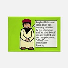 Mohammad Rectangle Magnet