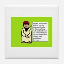 Mohammad Tile Coaster