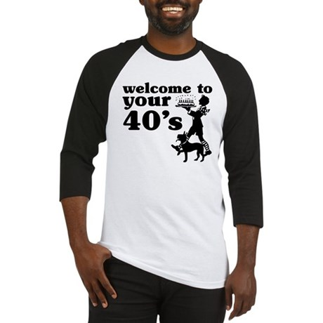 Welcome to your 40's Baseball Jersey