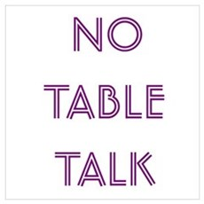 Euchre Table Talk Poster