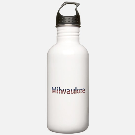 Milwaukee Stars and Stripes Water Bottle