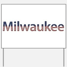 Milwaukee Stars and Stripes Yard Sign