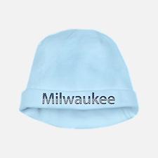 Milwaukee Stars and Stripes baby hat