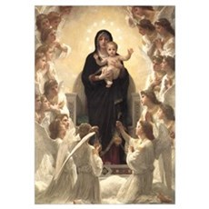 Bouguereau Madonna and Child Poster