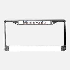 Minnesota Stars and Stripes License Plate Frame
