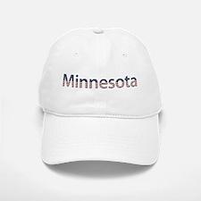 Minnesota Stars and Stripes Baseball Baseball Cap