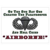 Army airborne Wrapped Canvas Art