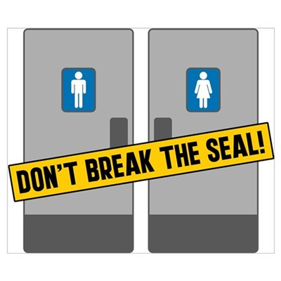 Don't Break The Seal Poster