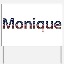 Monique Stars and Stripes Yard Sign