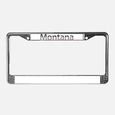 Montana Stars and Stripes License Plate Frame