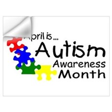 April Is Autism Awareness Month Wall Decal