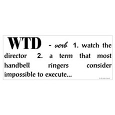 Watch the Director Framed Print