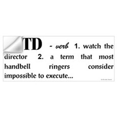 Watch the Director Wall Decal