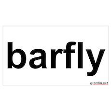 BTR: barfly Poster