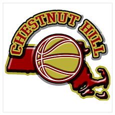Chestnut Hill Basketball Poster
