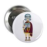 "Cute Roman Gladiator 2.25"" Button (100 Pk)"