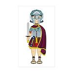 Cute Roman Gladiator Sticker (50 Pk)