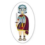 Cute Roman Soldier Sticker