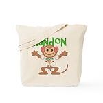 Little Monkey Randon Tote Bag
