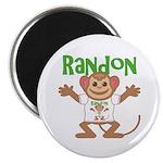 Little Monkey Randon Magnet